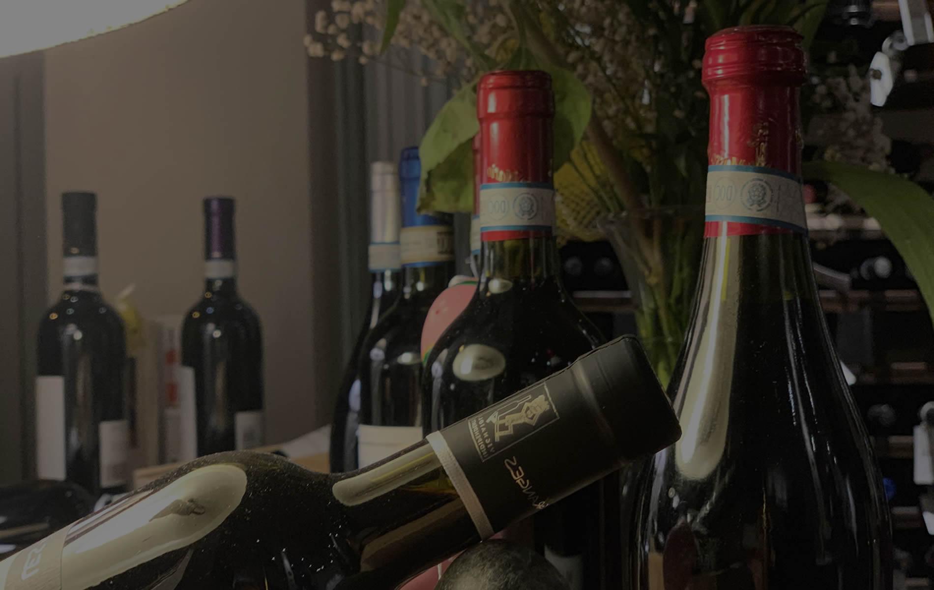 I nostri vini in bottiglia